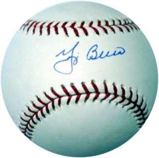 YOGI BERRA AUTOGRAPHED SIGNED MLB BASEBALL PSA/DNA YANKEES