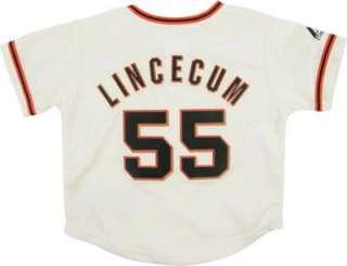 Tim Lincecum Majestic Replica San Francisco Giants Infant Jersey