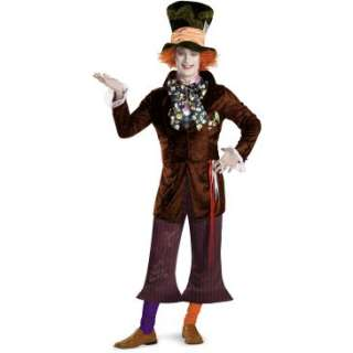 Alice In Wonderland Movie Prestige Mad Hatter Adult Costume, 69866