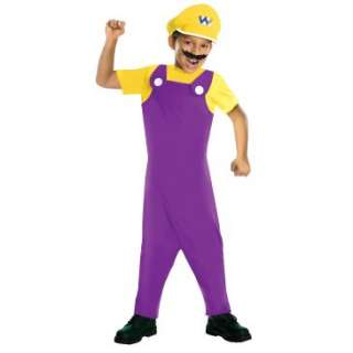 Super Mario Bros.   Wario Kids Costume, 801403