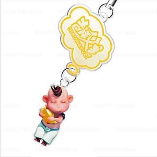 lingotto doro cinese stile jixiangfuzi ciondolo appeso giallo bambola