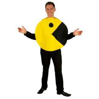 Halloween Costumes Pac Man 2D Profile Adult Costume