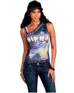 Hip Hop Graphic Tee  Wholesale Halloween 80s one of our Accessories