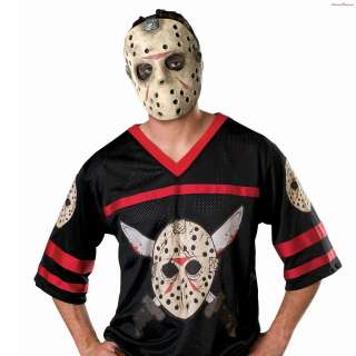 Jason Hockey Jersey & Mask   Adult Costume