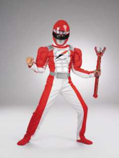 Power Ranger Red Muscle Child (Kids Costume)
