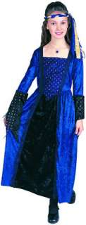 Renaissance Girl  Blue (Kids Costume)