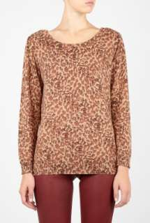 Marc by Marc Jacobs  Leopard Print Sweater by Marc By Marc Jacobs