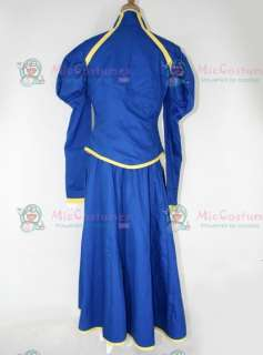 Fate Stay Night Blue Saber Cosplay Costume For Sale