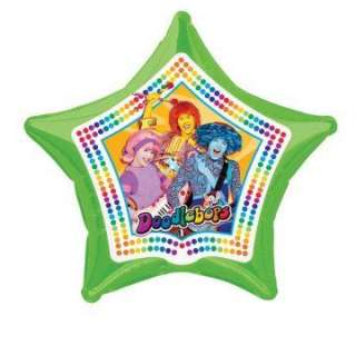 doodlebops 20 foil star balloon regular $ 3 99 price $ 2 99 save $