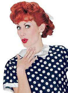 Love Lucy Adult Wig   Includes I Love Lucy Red wig. This is an