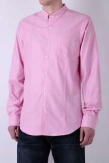 Pink Washed Oxford Cotton Shirt by Pretty Green   Pink   Buy Shirts