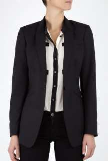 Paul Smith Black  Longer Length Single Button Jacket by Paul Smith