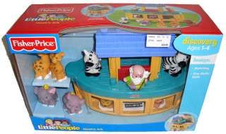 Fisher Price Little People Noahs Ark Toy MIB Animals