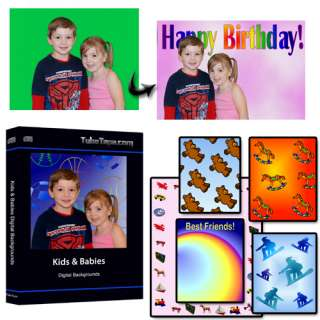 Kids, Babies & Teen Digital Backgrounds / Backdrops