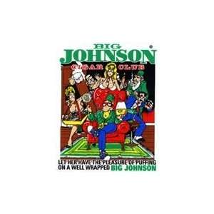 Big Johnson Cigar Club Sticker Sports & Outdoors