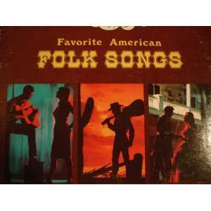 favorite american folk songs LP: 101 strings: Music