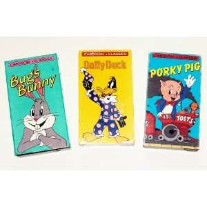 Classic Cartoons Collection #4 (3Pk) Daffy Duck; Bugs Bunny; Porky