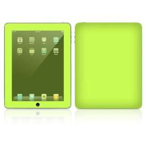 Apple iPad Decal Vinyl Sticker Skin   Simply Lime
