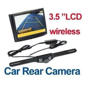 3.5 Wireless LCD Monitor Car Rear View Security Parking