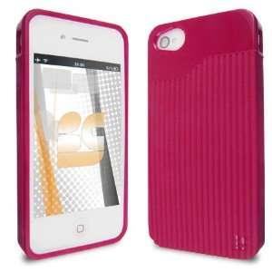 Premium   Apple iPhone 4G T Matrix Hot Pink Case (Carrier