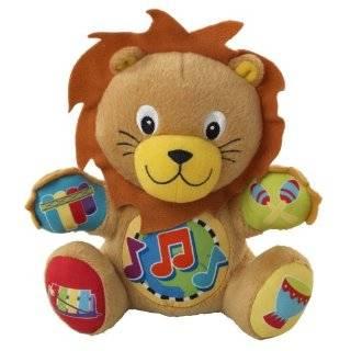 Baby Einstein Press and Play Pal Toy, Lion Baby Einstein Press and
