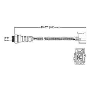 Walker 250 24679 Four Wire Oxygen Sensor Automotive