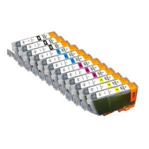 12 Pack. Compatible Cartridges for Canon BCI 6. Electronics