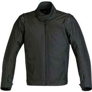 Ransom Mens Waterproof Sports Bike Motorcycle Jacket   Black / Small