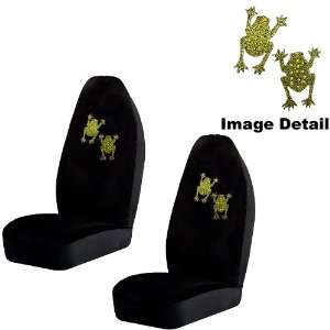 Bling Car Truck SUV Front Universal Fit Bucket Seat Covers   PAIR