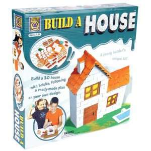 Build a 3D House w/Bricks Kit COY5299 Toys & Games