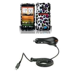 com HTC EVO 4G LTE (Sprint) Premium Combo Pack   Rainbow Leopard Cat