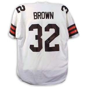 Jim Brown Cleveland Browns Autographed Jersey  Sports