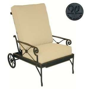 Seating Reclining Club Chair Frame Only, Coal Patio, Lawn & Garden