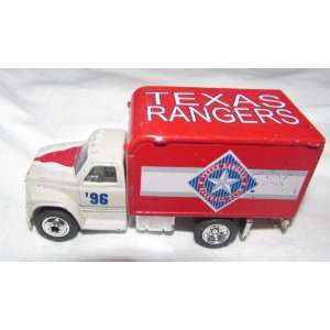 Rangers 1996 Matchbox Truck 1/64 Scale Diecast Car MLB Collectible