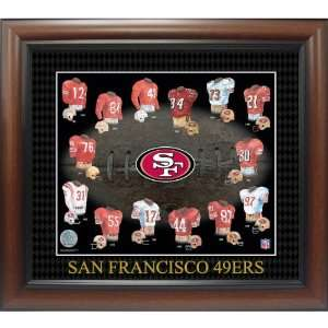 American Stamp Collectibles San Francisco 49Ers Evolution Of The Team