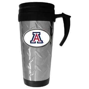 Wildcats NCAA Team Logo Diamond Plate Travel Mug