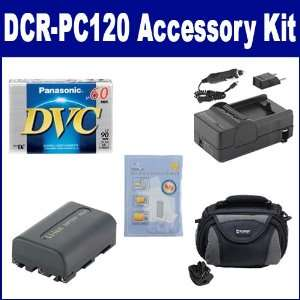 Sony DCR PC120 Camcorder Accessory Kit includes DVTAPE Tape
