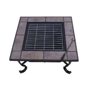Outdoor Metal Fire Heat Pit BBQ Stove 5972 2121 Patio, Lawn & Garden