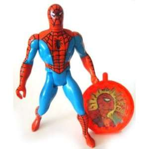 Secret Wars Spider Man Red Costume and his secret shield