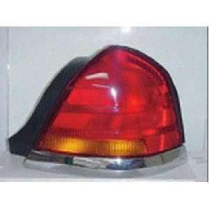 98 05 FORD CROWN VICTORIA TAIL LIGHT RH (PASSENGER SIDE), EXCEPT SPORT