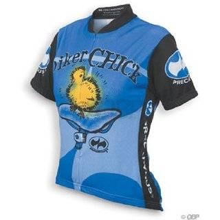 ... World Jerseys Womens Biker Chick Cycling Jersey  Blue  LG ... b82d7fb90