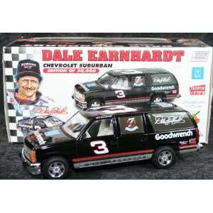 Dale Earnhardt Diecast Black 7 Time Champion 1/25 1995