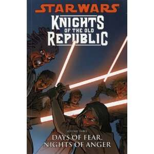 Star Wars Knights of the Old Republic Days of Fear