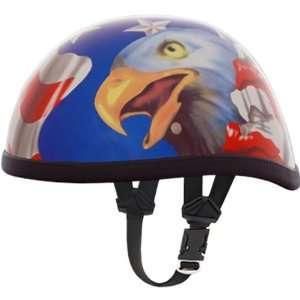 Daytona American Flag Eagle Novelty Cruiser Motorcycle