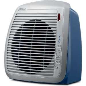 DeLonghi HVY1030BL 1500 Watt Fan Heater   Blue with Gray