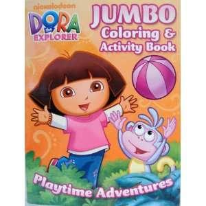 DORA the EXPLORER COLORING & ACTIVITY BOOK (d) Toys & Games