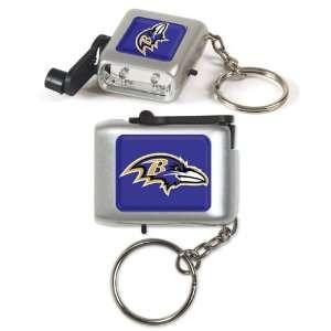 NFL Baltimore Ravens LED Eco Light Keychain
