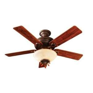Midnight Copper Ceiling Fan with Light and Heater
