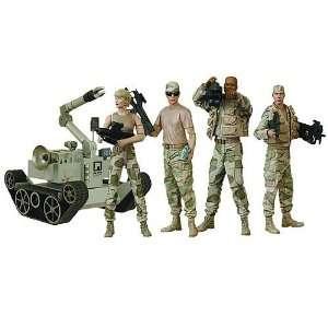 Stargate Series 4 Desert Combat Figure Case Of 8 Toys & Games