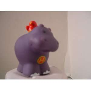 Fisher Price Little People Alphabet Hippo Replacement Figure Doll Toy